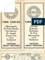 CGW Public Timetable Mar 01 1941