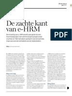 De zachte kant van e-HRM