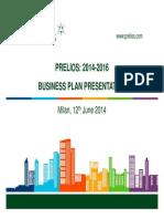 Massimo Caputi Prelios - Approvato Prelios Business Plan 2014-2016