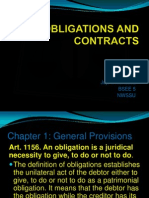 Obligation and Contracts Pp t