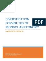 Diversification of Mongolian Economy Unexploited Potential-1