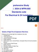 Comparison - BIS Code 3034 & NFPA Code 850
