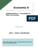 Unidade Lectiva 3 – a Produção de Bens e de Serviços (Joao Ferreira's Conflicted Copy 2011-06-26)