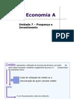 Unidade Lectiva 7 – Poupança e Investimento (Joao Ferreira's Conflicted Copy 2011-06-26)
