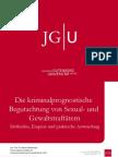 Die kriminalprognostische Begutachtung von Sexual- und Gewaltstraftätern