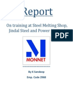 Report on 1 Month Training at SMS