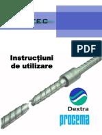 Instructiuni de Utilizare cuple FORTEC