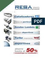 Catalogo Catalizadores IRESA Ing
