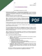 Documentación en España