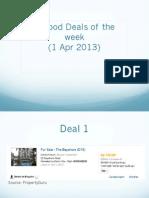 3 Good Deals_1 Apr 2013