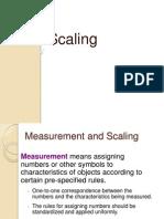 Measurement- Research methodoly