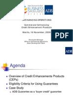 5-1 Cofinancing Operations Commercial - Christophe Bellinger