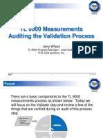 TL 9000 Measurements-Wilson