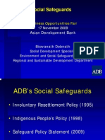 ADB General - 3 Social Safeguards - Biswanath Debnath