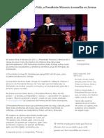 Atravessar as Pontes Da Vida, o Presidente Monson Aconselha Os Jovens Adultos - Notícias Da Igreja