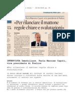 Sole 24 Ore - Intervista Massimo Caputi Prelios GIUGNO 2014