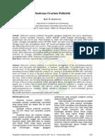 Mkn Volume 38 No 4; Sindroma Ovarium Polikistik