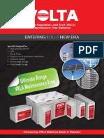 VRLA Batteries Brochure-VOLTA