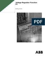ABB_Auto Voltage Regulator Setting Guide