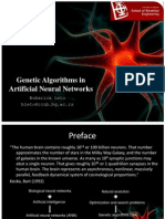 Genetic Algorithms in Artificial Neural Network [Autosaved]