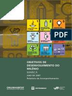 Objetivos de Desenvolvimento Do Milênio - Maricá Ano de 2007
