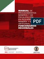 MANUAL DE PROCEDIMIENTOS PARA EL OTORGAMIENTO DE PERMISO MINERO; PERÚ.pdf