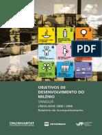 Objetivos de Desenvolvimento Do Milênio - Tanguá , Linha-base 2000/2006