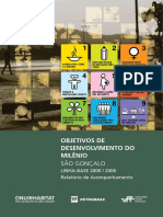 Objetivos de Desenvolvimento Do Milênio - São Gonçalo Linha-base 2000/2006