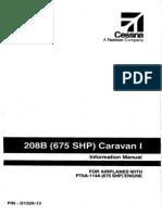 208B Caravan I Cessna POH