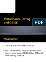 Performance Testing Obiee