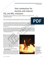 Flameless Oxyfuel for More Production CO2 NOx SuE 0708138_10828