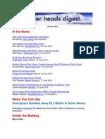 Cooler Heads Digest 20 June 2014