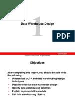 CH1 Data Warehouse Design