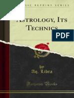 Astrology Its Technics 1000003114