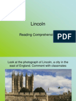 Reading Comprehension Exercise (Lincoln - Class 2)
