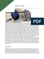 Prinsip Kerja Regulator Mekanik
