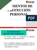 1.- Elementos de Protección Personal