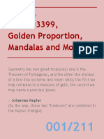1.61803399, Golden Proportion, Mandalas and More...