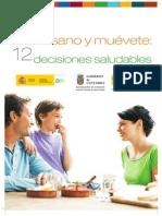 Come Sano y Muévete 12 Decisiones Saludables
