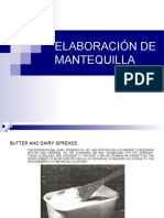ELABORACIÓN DE MANTEQUILLA Y HELADOS