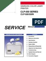 Samsung Clp-550 550n