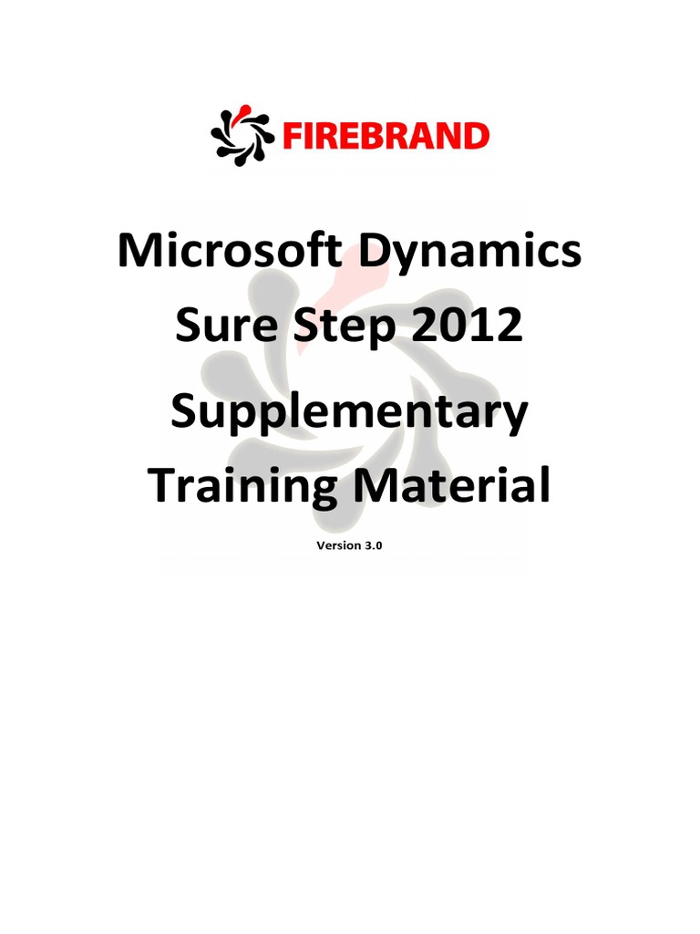 Microsoft dynamics sure step training test assessment microsoft dynamics sure step training test assessment business process baditri Gallery