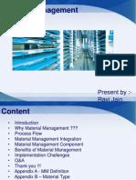18097116 Material Management
