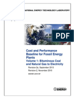 00_NETL Cost and Performance Baseline of Fossil Fueled PP BitBase_FinRep_Rev2