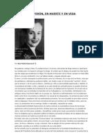 Ana María Giacosa - Eva, en muerte y en vida