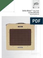 Peavey Delta Blues Manual