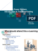 Notebook Power System Introduction Troubleshooting