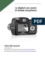 Guia de Usuario de Camara Kodak