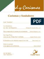 87 Carismas y Fundadores