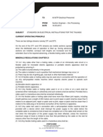 Tailings Electrical Standard - Earthing - 16-05-2013